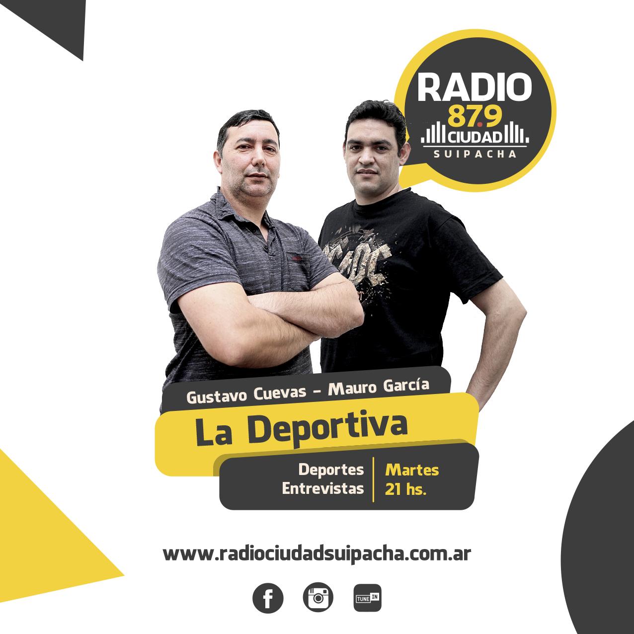 DEPORTIVA FEED 2021 RADIO CIUDAD SUIPACHA